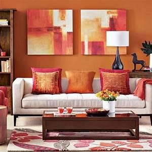 davausnet couleur peinture orangee avec des idees With quelle couleur pour un salon 4 quelles pierres de parement choisir pour votre piace