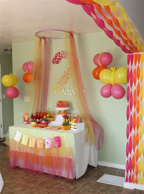 ideas homemade centerpiece for parties my home design butterfly themed birthday party decorations events to