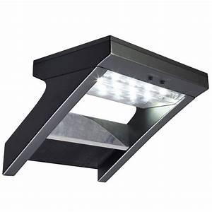Applique Exterieur Solaire : applique solaire malibu 300 lm noir inspire leroy merlin ~ Dode.kayakingforconservation.com Idées de Décoration