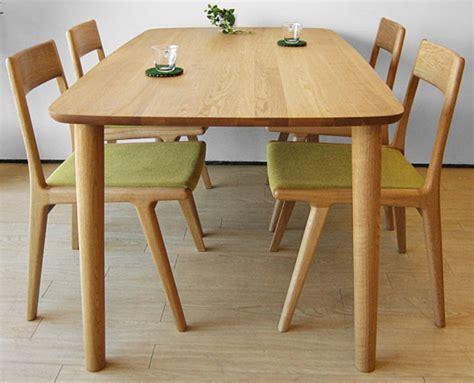 style japonais salle 224 manger meubles simple moderne ch 234 ne massif table 224 manger en bois