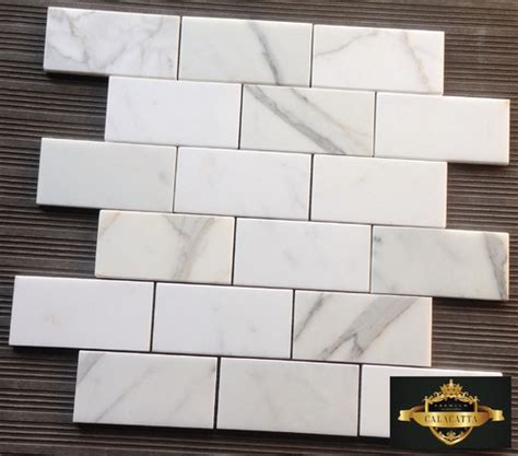 honed or polished calacatta gold backsplash
