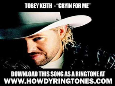 """Tobey Keith  """"cryin For Me"""" [ New Video + Lyrics"""