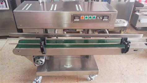 heat sealer equipment vertical plastic bags sealing machine semi automatic maquina de sellado