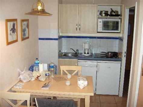 cuisine en coin coin cuisine photo de vacances résidence les