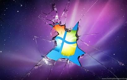 Iphone Windows Screen Wallpapers Broken Brands Desktop