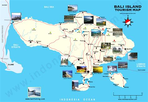 bali island street map detail  guide bali weather