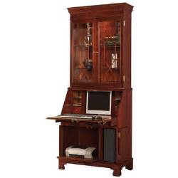 sterling computer secretary desk with hutch wayfair