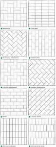 Pattern potential subway backsplash tile centsational girl for Backsplash subway tile layout