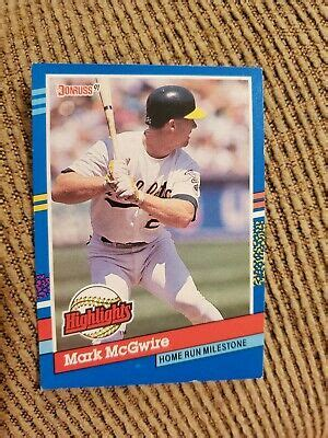 Check spelling or type a new query. 1991 Donruss Mark Mcgwire #BC-9 Baseball Card | eBay
