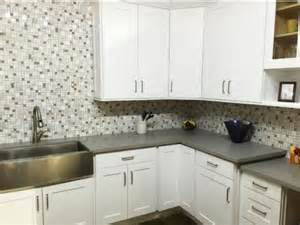 uptown shaker white rta kitchen cabinets