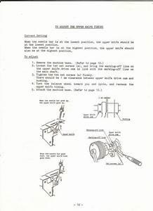 Janome Mylock 234 Sewing Machine Service Manual