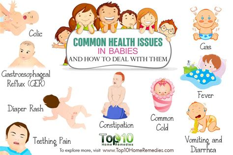 10 Common Health Issues In Babies And How To Deal With Them  Top 10 Home Remedies