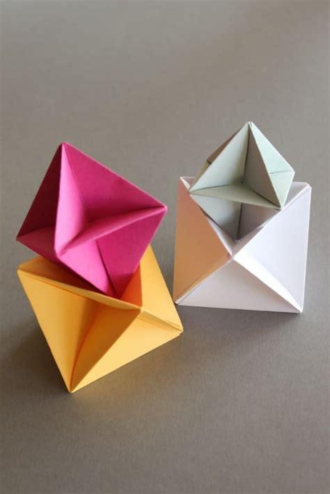 origami spinne falten diy origami modular spinner handmade kultur
