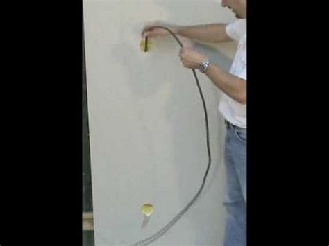passe cable tv mural tire cables