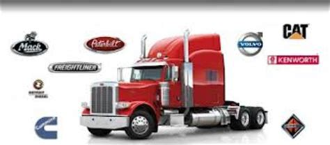 top semi trucks tractor trailer manufacturer brands
