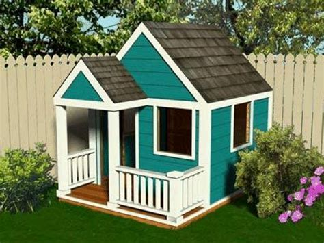 Playhouse With Loft Plans Simple Playhouse Plans, Simple