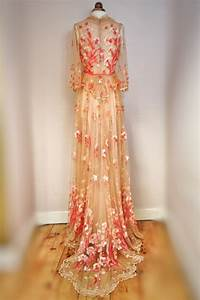 joanne fleming design blogfloral embroidered tulle and With floral embroidered wedding dress