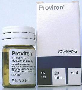 Proviron  Mesterolone  20 Tabs 25 Mg