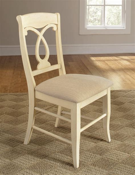 coaster 103822ivy white fabric dining chair a sofa