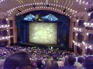 Aronoff Seating Chart Wicked Curtain View From Our Seats Loge At The Aronoff