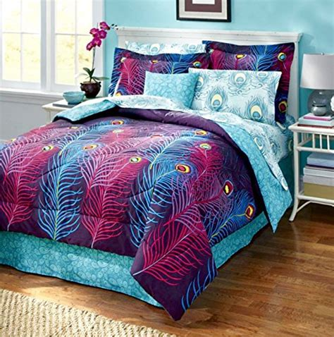 Peacock Colored Bedding by Teal Peacock Blue Bedding Set Ideas Teal Peacock Colored