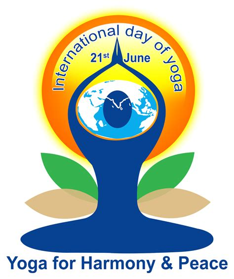 international yoga day logo psd file  downloads