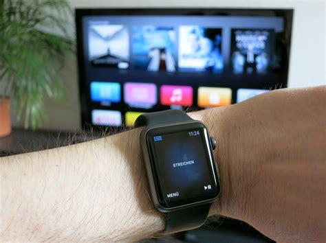das apple tv mit der apple  ueber remote steuern
