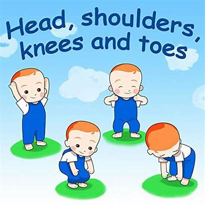 Knees Toes Shoulders Head Nursery Rhymes Songs
