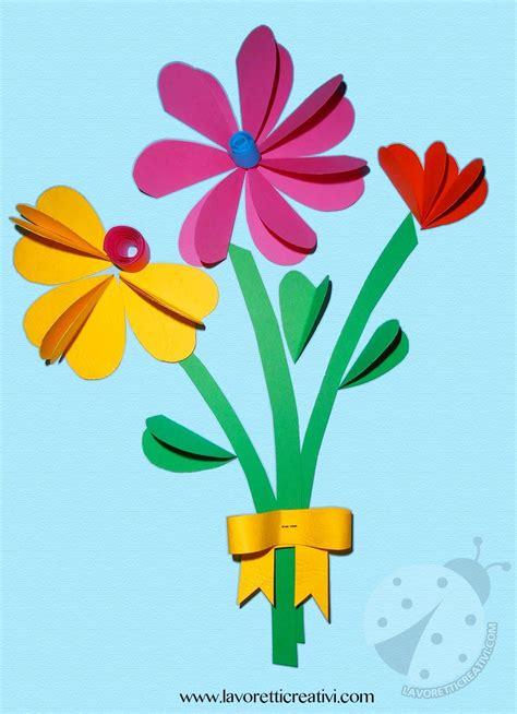 di fiori bouquet di fiori con cuori