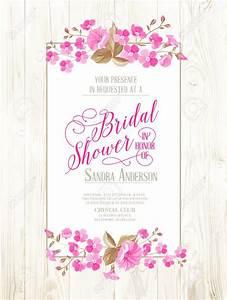 invitations templates vintage wedding shower invitations With wedding shower images free