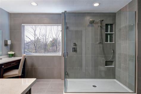 grey bathroom modern bathroom columbus by courtney burnett