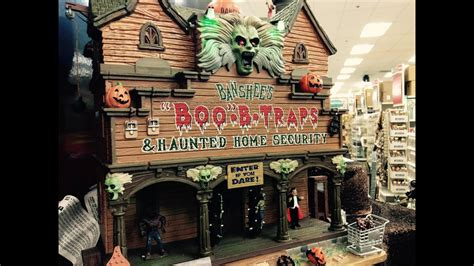 michaels halloween  lemax spooky town youtube