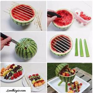 Watermelon Fruit Party Idea Pictures, Photos, and Images
