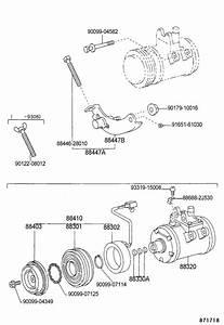 Toyota Previa Compressor Assy  Cooler