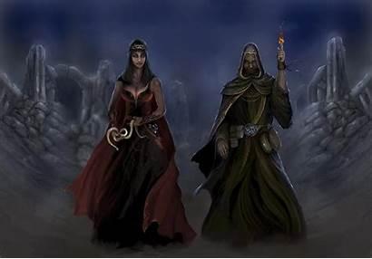 Sorcerer Shockbolt Ancient Deviantart Queen Mage Cloaked