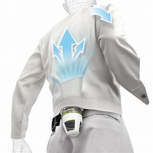 Portable Shirt or Jacket Air Conditioner - The Green Head