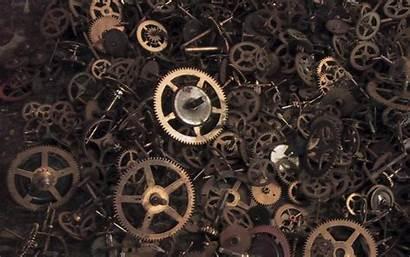Gears Steampunk Cogs Mechanical Wallpapers Gear Desktop