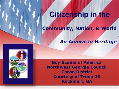 Citizenship Community, Nation, World, & American Heritage ...
