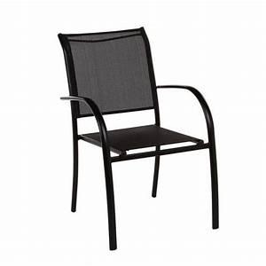 Chaise Et Fauteuil De Jardin : chaise et fauteuil de jardin salon de jardin table et chaise eminza ~ Teatrodelosmanantiales.com Idées de Décoration