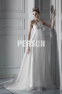 Robe De Mariée Moderne : robe de mari e moderne en tulle empire d collet en c ur ~ Melissatoandfro.com Idées de Décoration