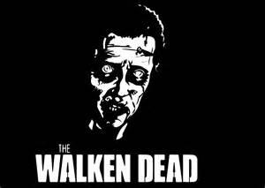 Printable Walking Dead Pumpkin Carving Patterns by 0 Quot The Walken Dead Quot Christopher Walken The Walking