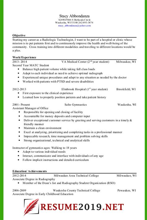Targeted Resume Template by Resume Format 2019 Templates 20 Exles