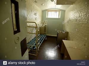 HMP Dorchester Prison, inside a prison cell, Dorset ...