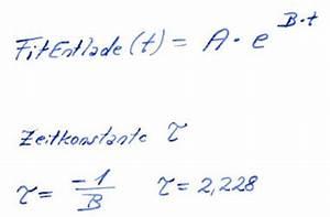 Zeitkonstante Berechnen : exponential fit ~ Themetempest.com Abrechnung