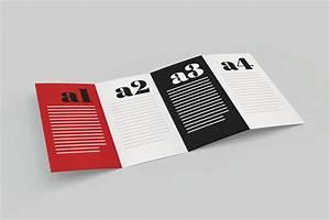 Mockup fold brochure on behance for Behance mockups