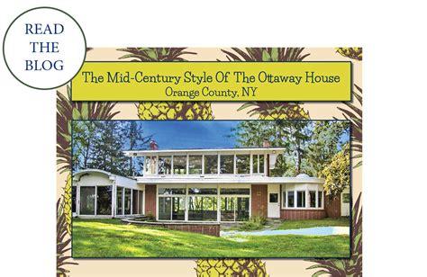 Upstate Ny Mid Century Modern Orange County Real Estate