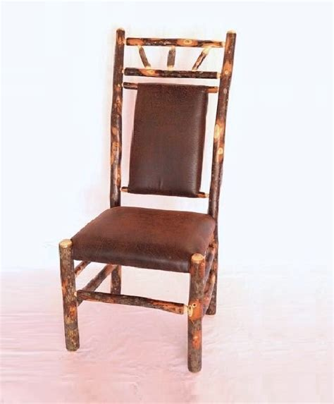 high back hickory dining chair carriage house furnishings