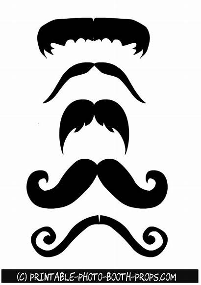 Props Booth Moustaches Printable Photobooth