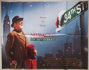 Miracle on 34th Street Original UK Quad Poster Richard ...