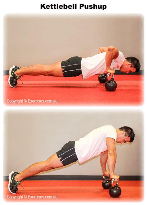 kettlebell pushups exercises pushup amrap